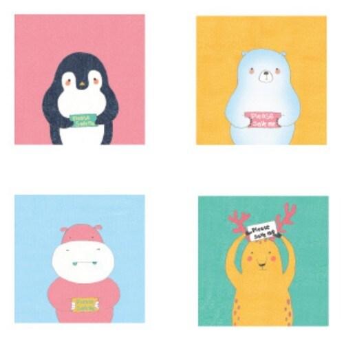 레드포인트  Mini save animals note (선택구매)_이미지
