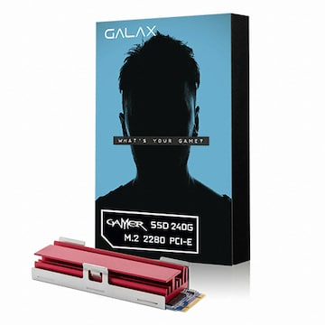 갤럭시 GALAX GAMER Heat Sink M.2 2280(240GB)