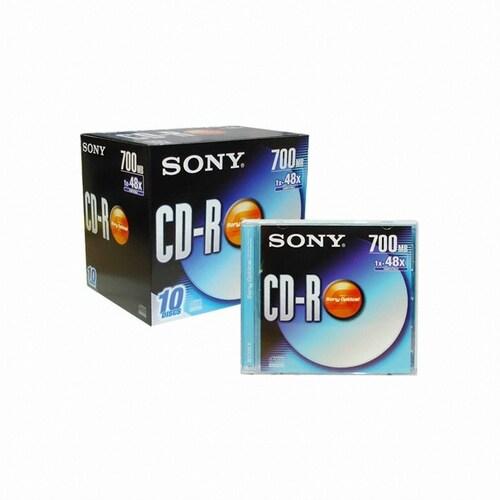 SONY CD-R 700MB 48x 쥬얼 (50장)_이미지