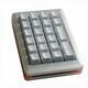 Mistel MD200 알루미늄 RGB 숫자 패드 (실버, 은축)_이미지