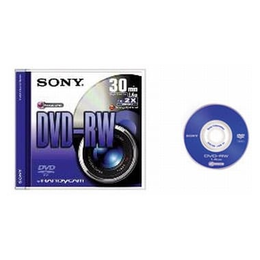 SONY DMW30S2 DVD-RW 30분용 미디어 (50개)_이미지
