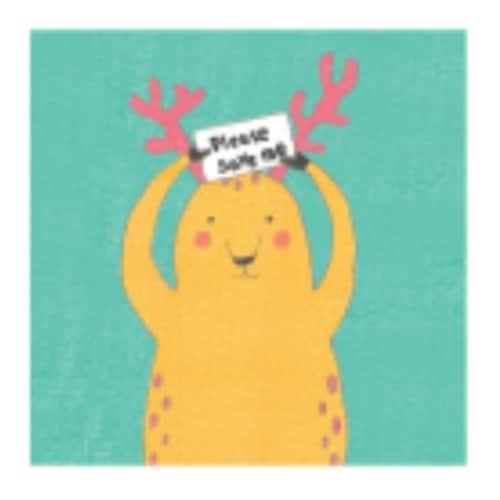 레드포인트  Mini save animals note (사슴)_이미지