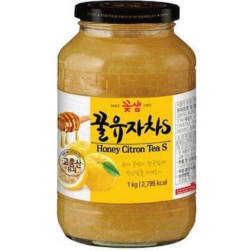 꽃샘식품 꿀유자차S 1kg(1개)