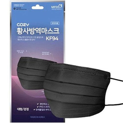 HD메디스 코지 KF94 대형 블랙(1개)