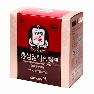 정관장 홍삼정 캡슐 현 100캡슐(1개)