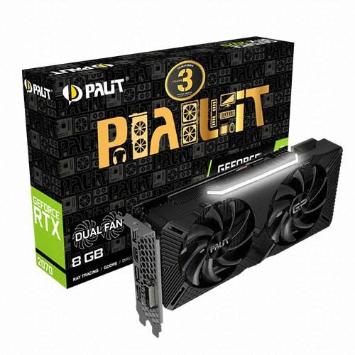 PALIT  지포스 RTX 2070 Dual D6 8GB_이미지
