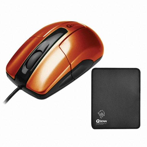 지피전자 QSENN GP-M9000 PLUS (오렌지, GP-MP460 패드 증정)_이미지