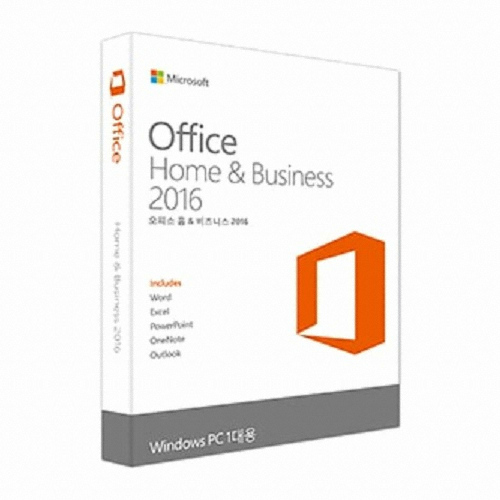 Microsoft Office 2016 Home & Business (PKC 영문)