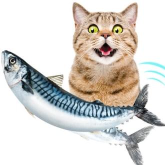 펫케어 춤추는생선 고등어 고양이용_이미지