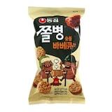 농심 쫄병 숯불 바베큐맛 90g  (30개)