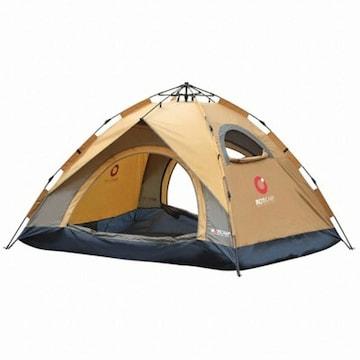 로티캠프 원터치 컴포트 플러스 프리미엄 텐트(4인용)