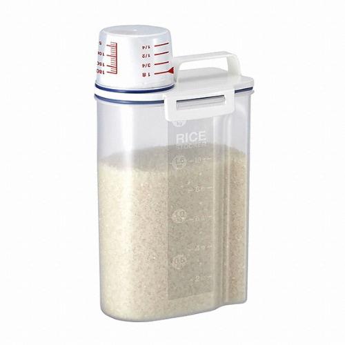 아스벨 밀폐 컴팩트 쌀통 2kg_이미지