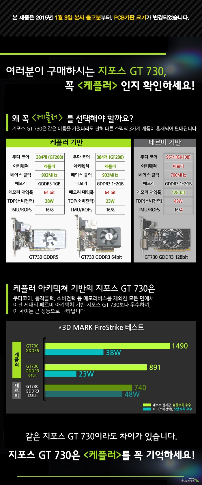 XENON GT730 D3 1GB LP 메인 이미지