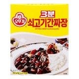 오뚜기 3분 쇠고기간짜장 200g  (1개)