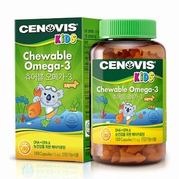 세노비스  키즈 츄어블 오메가-3 150캡슐 (1개)