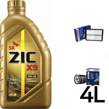SK루브리컨츠 지크 X9 LS 5W30 + 보쉬필터 포르테 가솔린_이미지