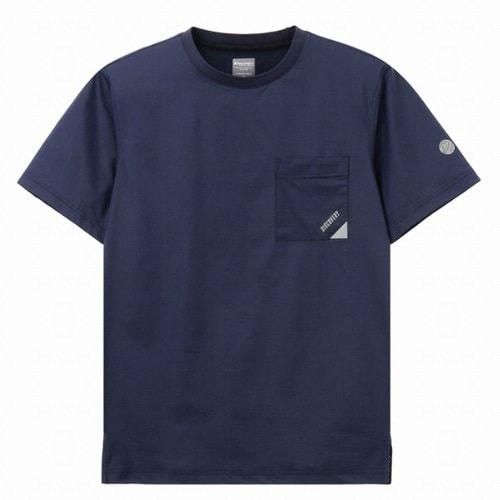 디스커버리익스페디션  포켓 라운드 티셔츠 (DMRT60831-DN, 다크네이비)_이미지