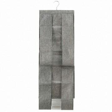 인블룸 공간활용 가방수납정리함 걸이형 그레이(1개)