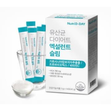 더베이글 뉴트리디데이 유산균 다이어트 엑설런트 슬림 14포(1개)