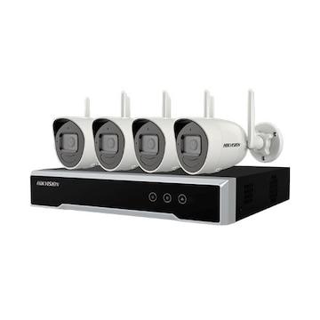 HIKVISION Wi-Fi Series NK42W0H 4+1 (녹화기 + 카메라 4개)_이미지