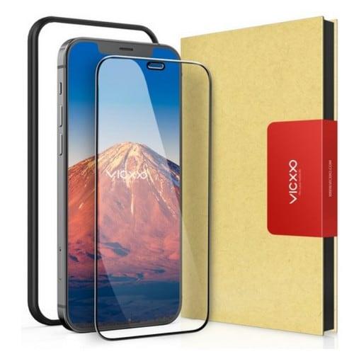 케이엠크레비즈 VICXXO 아이폰12 프로 맥스 4D 풀커버 강화유리 보호필름 (액정 1매)_이미지