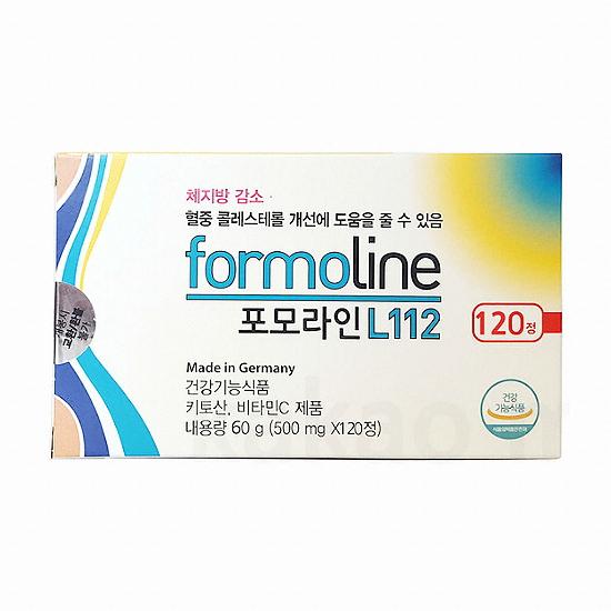 유유제약 포모라인 L112 120정(1개)