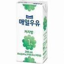 매일우유 저지방 1% 200ml (멸균)