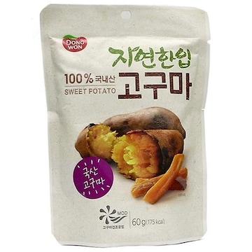 동원F&B 자연한입 고구마 60g (1개)