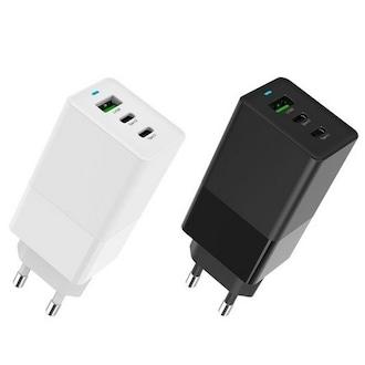 와이엘인터내셔널 와이즈핏 USB-PD PPS 65W 3포트 GaN 충전기 ZX-3U10T_이미지