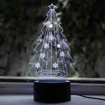 LED 크리스마스트리 무드등