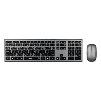 ABKO WKM160 펜타그래프 무선 키보드 마우스 오피스 세트