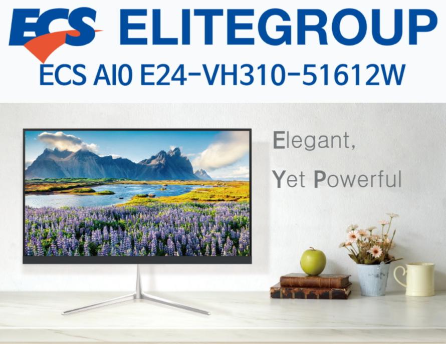 ECS AIO E24-VH310-51612W (16GB, M2 120GB)