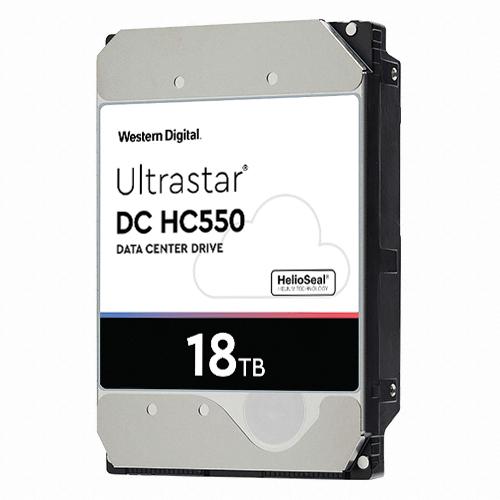 Western Digital WD Ultrastar DC HC550 7200/512M(WUH721818ALE6L4, 18TB)