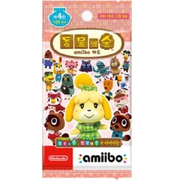 Nintendo 동물의 숲 아미보 카드 제 4탄