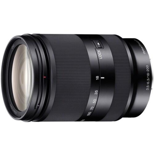 SONY 알파 E 18-200mm F3.5-6.3 OSS LE (중고품)_이미지