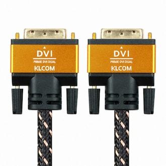 케이엘시스템 KLcom PRIME 고급형 DVI 케이블 (KL51, 1m)_이미지