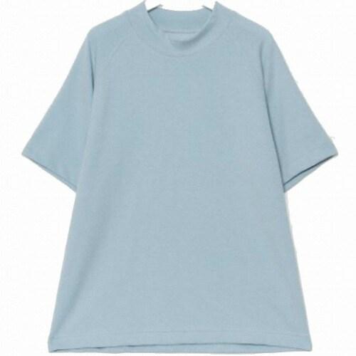 에잇세컨즈 여성 스카이 블루 반소매 티셔츠 169842JY2Q_이미지