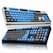 앱코 HACKER K661 카일 광축 완전방수 축교환 어썸블루 (블랙 V1, 클릭)_이미지
