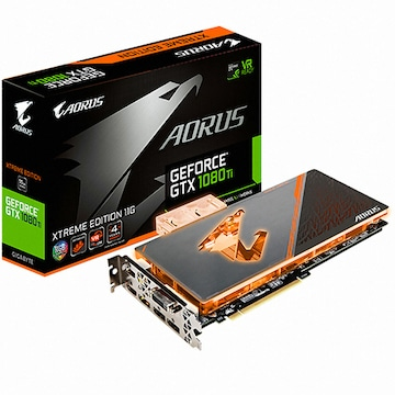 GIGABYTE 지포스 GTX1080 Ti AORUS Xtreme D5X 11GB 워터블럭