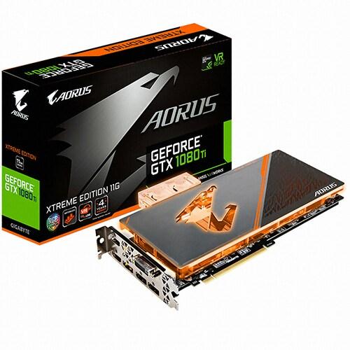 GIGABYTE  지포스 GTX1080 Ti AORUS Xtreme D5X 11GB 워터블럭_이미지
