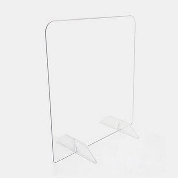 투명 막힘형 3T 칸막이 (40x50cm)_이미지