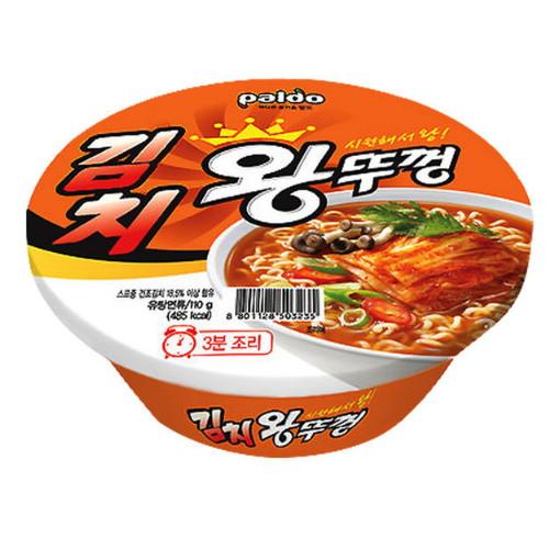 팔도 김치 왕뚜껑 110g(1개)