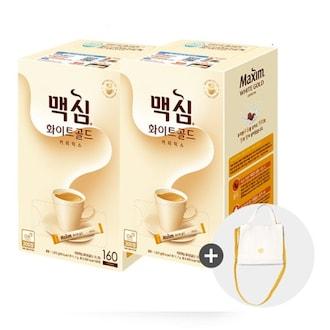 동서식품 맥심 화이트골드 320T + 런치백 세트 (1개)_이미지