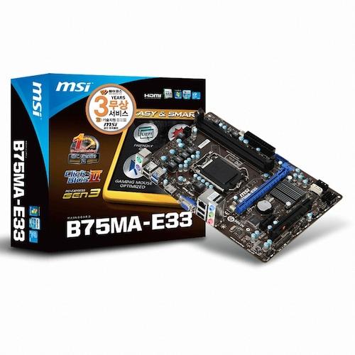 MSI B75MA-E33 GEN3_이미지