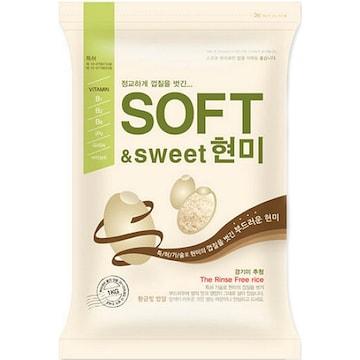 나노미  SOFT&sweet 현미 추청 3kg (17년 햅쌀) (1개)
