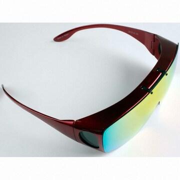 지피오레  리코 편광선글라스 FSX060 (레드+무지개미러)