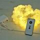 인크리코 LED 18mm 충전식 스마트 웜 앵두전구 50구_이미지
