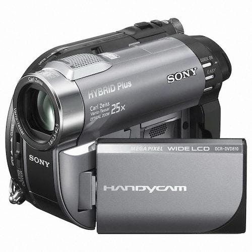 SONY HandyCam DCR-DVD810 하이브리드 캠코더 (기본 패키지)_이미지