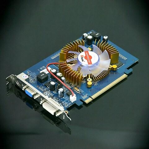 KHAN 지포스 8500GT 칸 DDR2 256MB S4리그_이미지