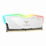 TeamGroup T-Force DDR4 8G PC4-21300 CL15 Delta RGB 화이트 서린